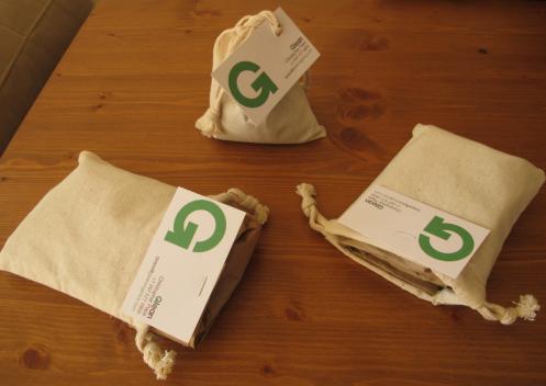 glean tea bag packaging